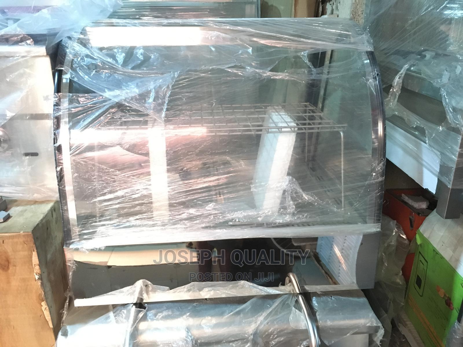 Curved Glass 2 Plates With Rack Industrial Snacks Warmer | Restaurant & Catering Equipment for sale in Ojo, Lagos State, Nigeria
