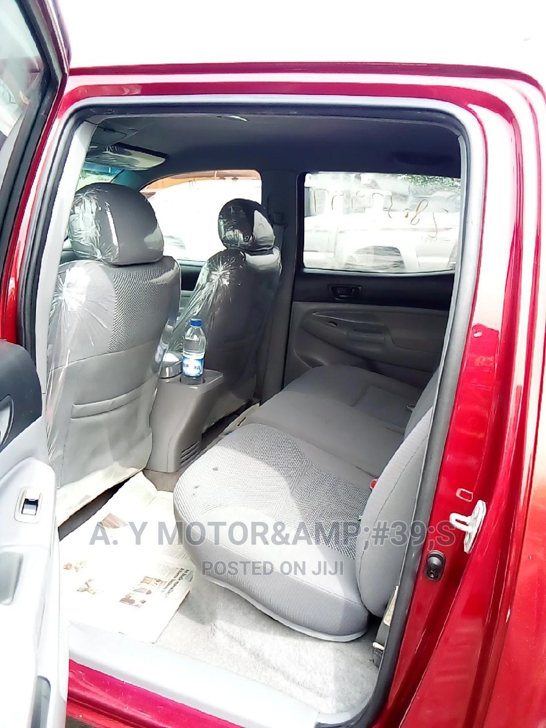 Toyota Tacoma 2007 Red | Cars for sale in Apapa, Lagos State, Nigeria