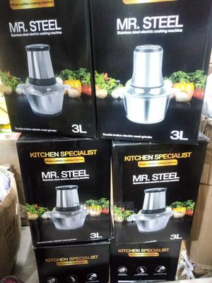 3 Litres Mr Steel Yam Pounder | Kitchen Appliances for sale in Lagos State, Lekki