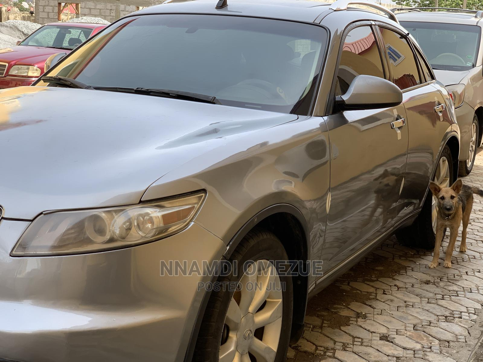 Infiniti FX35 2004 Gray | Cars for sale in Gwarinpa, Abuja (FCT) State, Nigeria