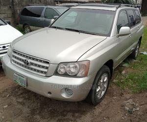 Toyota Highlander 2003 Limited V6 AWD Silver | Cars for sale in Rivers State, Port-Harcourt