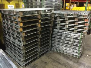 Steel Pallets/ Wire Mesh Pallets/ Crate Pallets | Store Equipment for sale in Lagos State, Ikeja