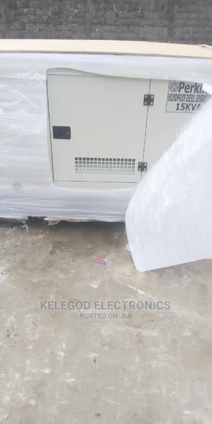 Original Perkins Soundproof Diesel Generator 15kva | Electrical Equipment for sale in Lagos State, Ojota