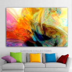 Abstract Art Work With Good Quality Frame   Arts & Crafts for sale in Lagos State, Ajah