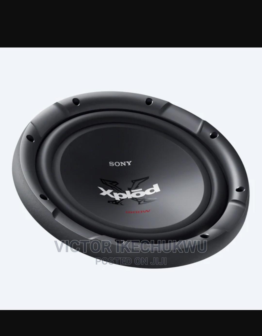 Sony Xplod (XS-NW1201) Car Audio Subwoofer Naked Speaker