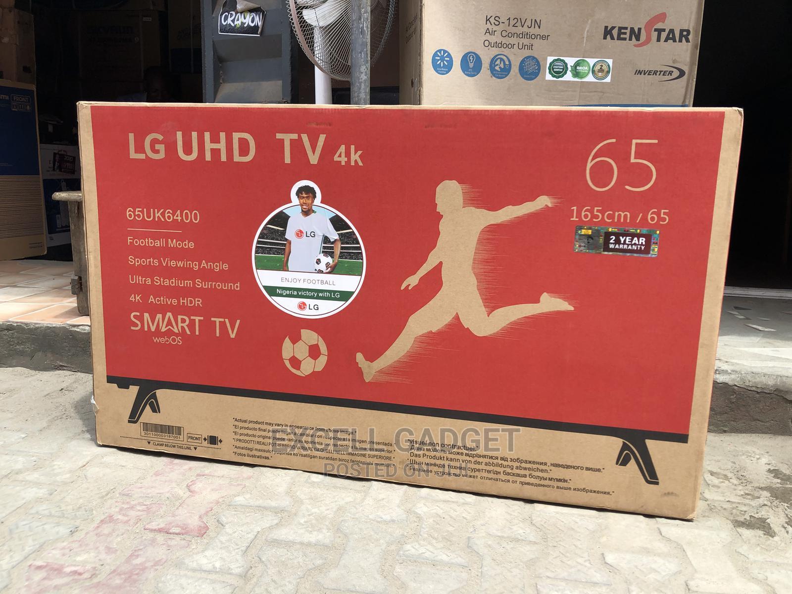 "Archive: LG 65"" 4k UHD Smart Television"