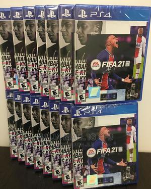 Original Fifa 21 Standard Edition   Ps4   Video Games for sale in Abuja (FCT) State, Kubwa