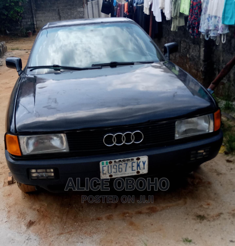 Archive: Audi 80 1990 Black