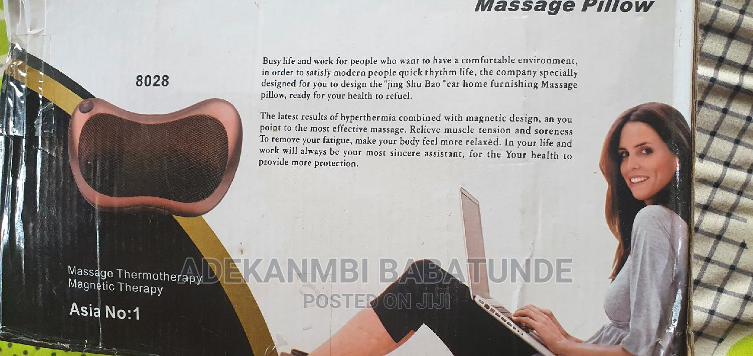 Car Home Massage Pillow | Sports Equipment for sale in Ajah, Lagos State, Nigeria