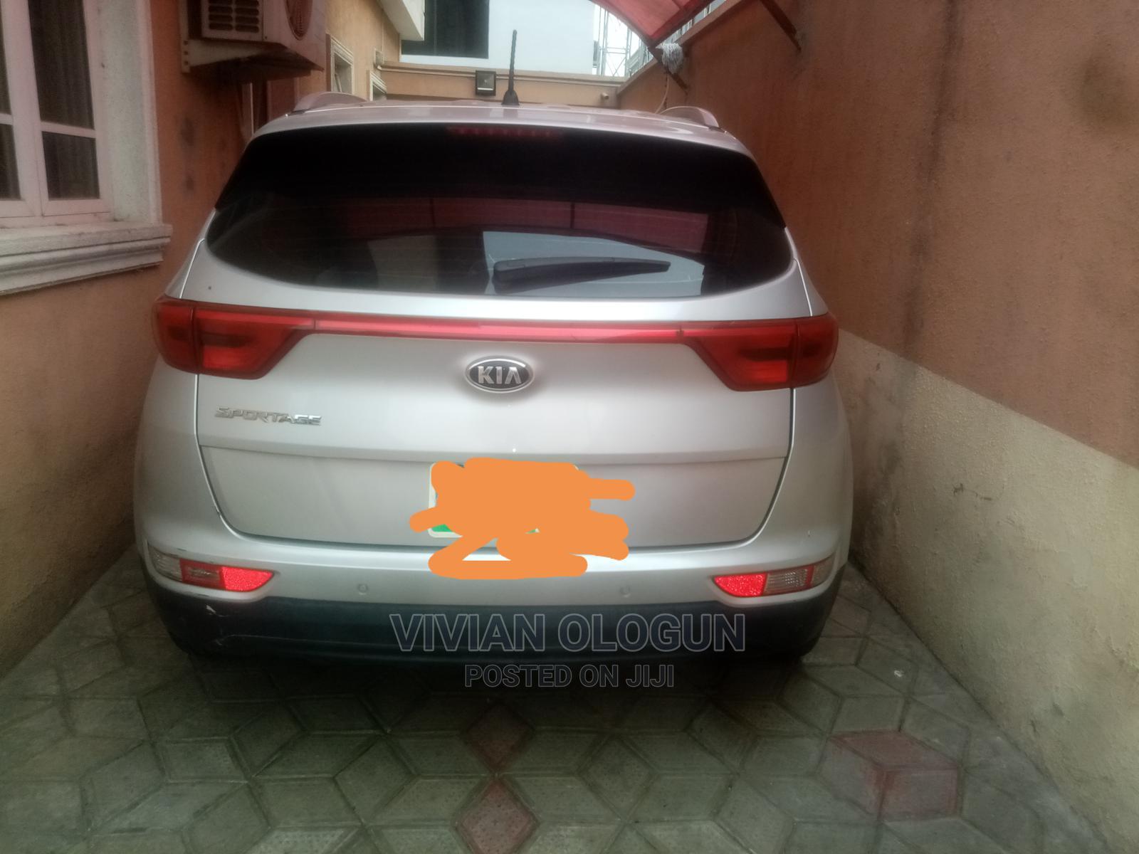 Kia Sportage 2018 EX AWD Silver | Cars for sale in Ikoyi, Lagos State, Nigeria