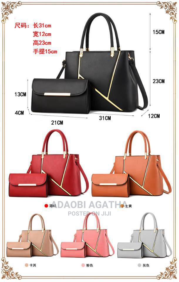 Quality 2 in One Bag Pure Leather | Bags for sale in Jabi, Abuja (FCT) State, Nigeria