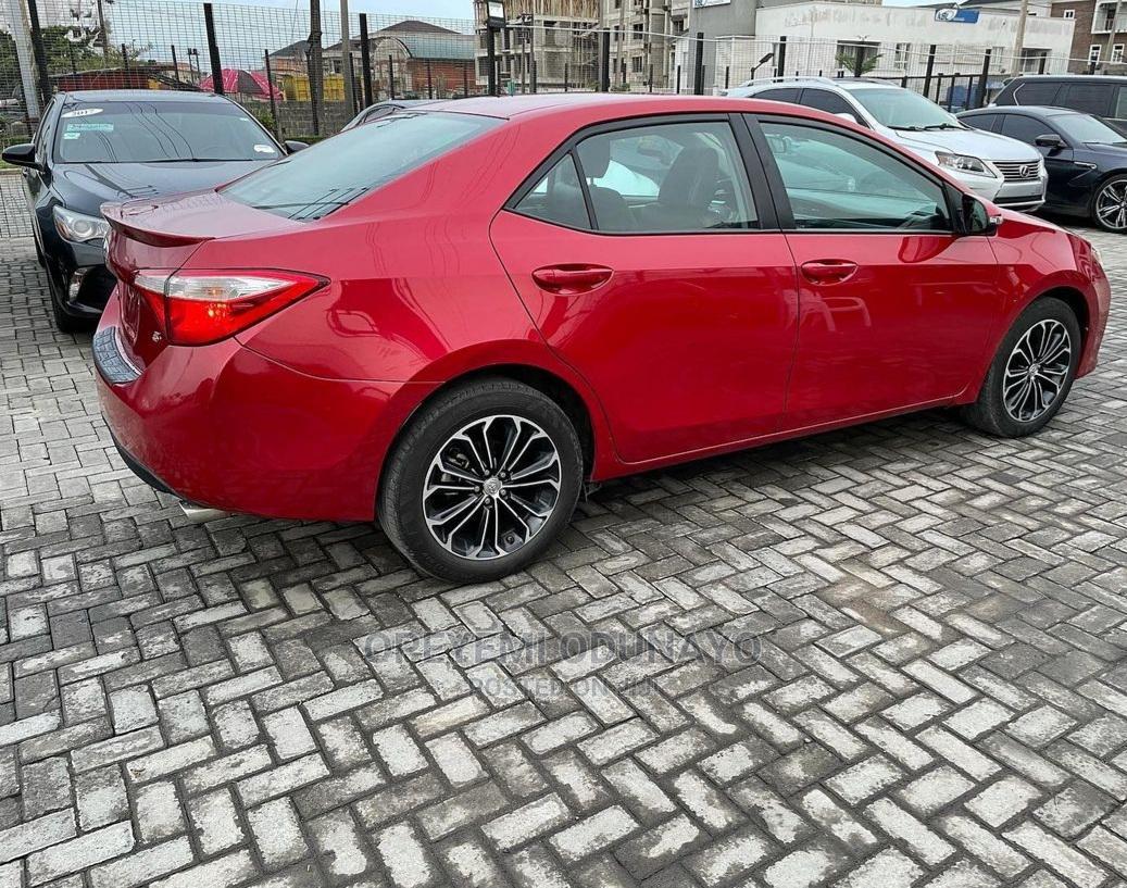 Toyota Corolla 2015 Red | Cars for sale in Ikorodu, Lagos State, Nigeria