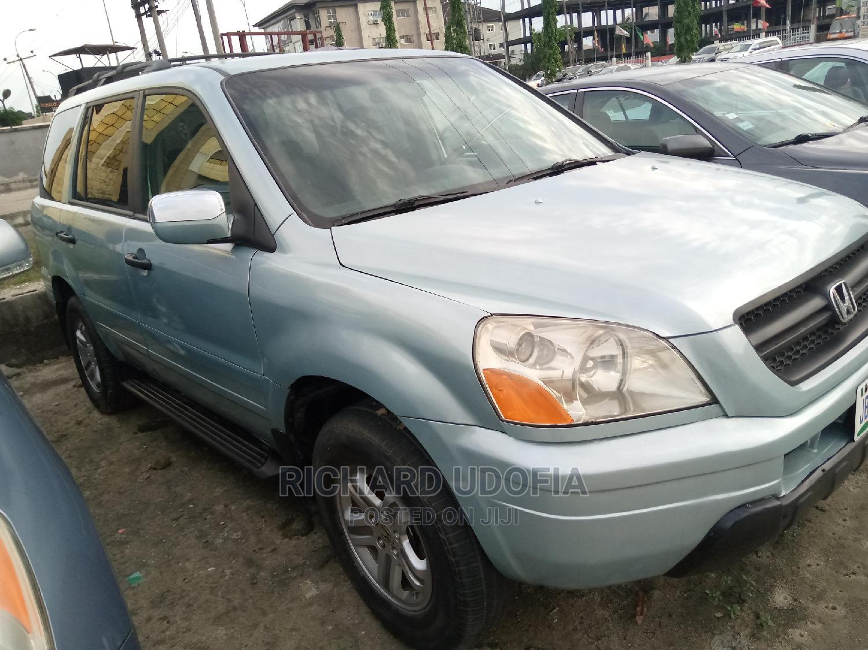 Honda Pilot 2003 LX 4x4 (3.5L 6cyl 5A) Green | Cars for sale in Port-Harcourt, Rivers State, Nigeria