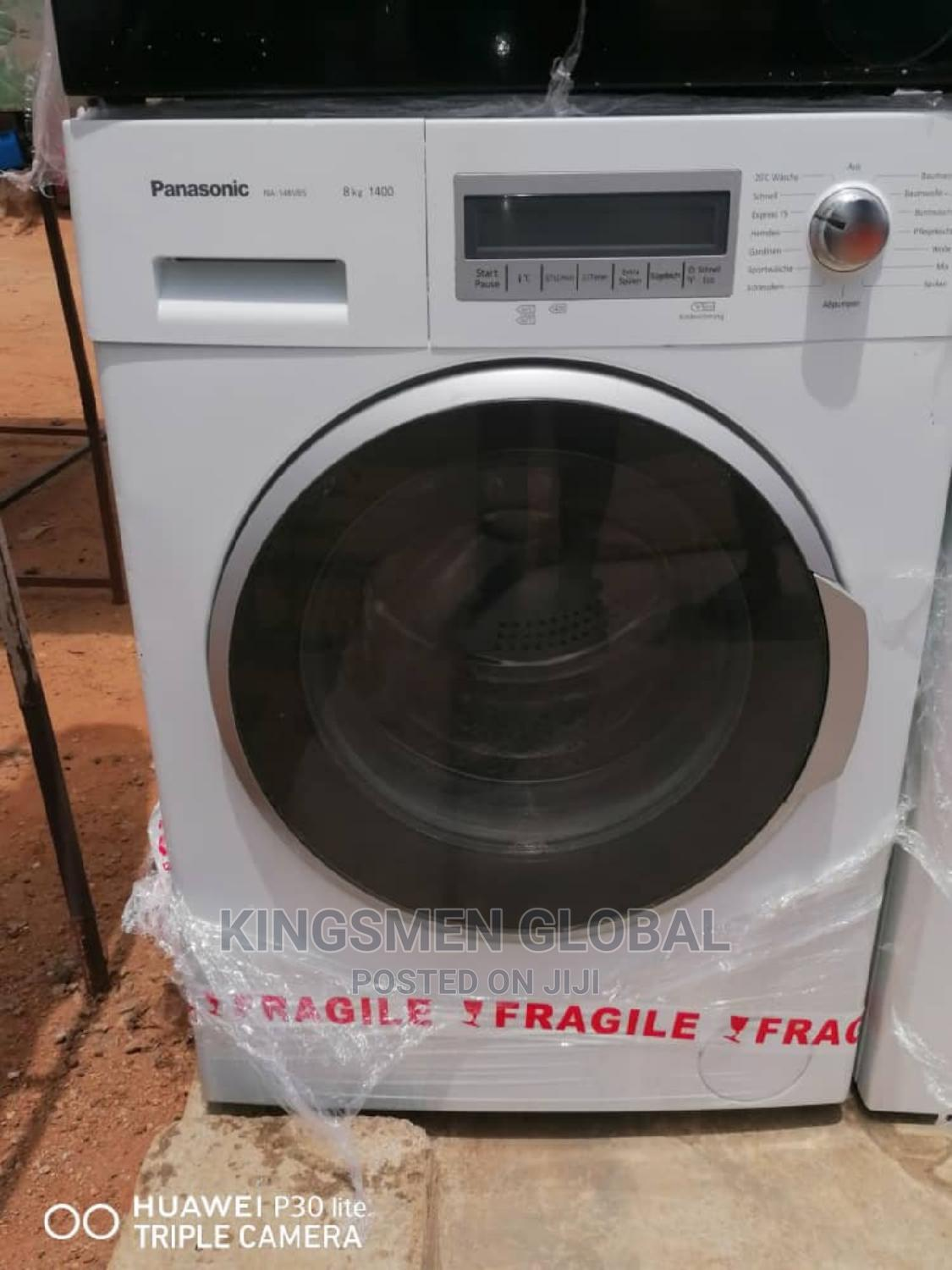 Panasonic 8kg Front Loader Automatic Washing Machine | Home Appliances for sale in Ikorodu, Lagos State, Nigeria