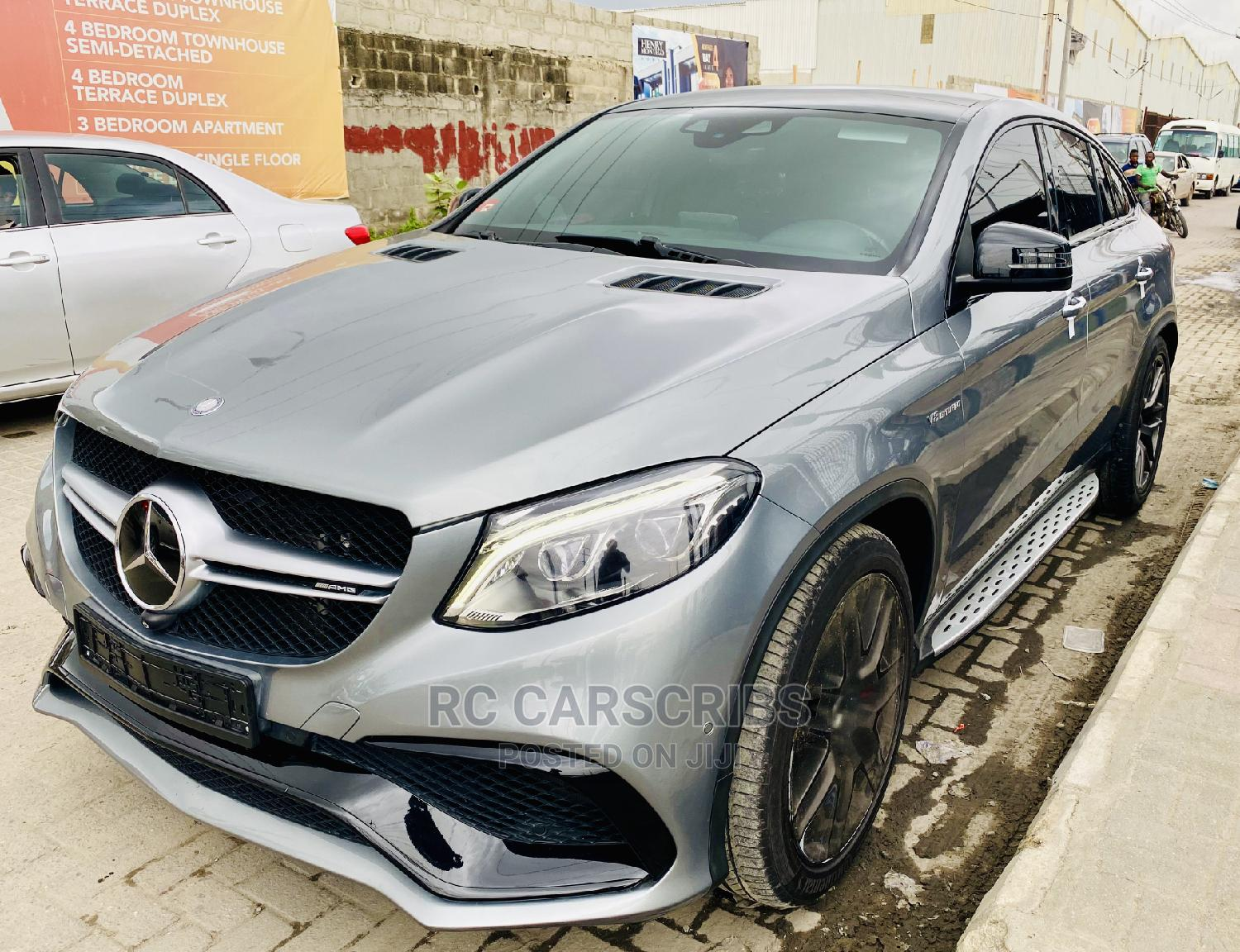 Mercedes-Benz GLE-Class 2016 Gray | Cars for sale in Lekki, Lagos State, Nigeria