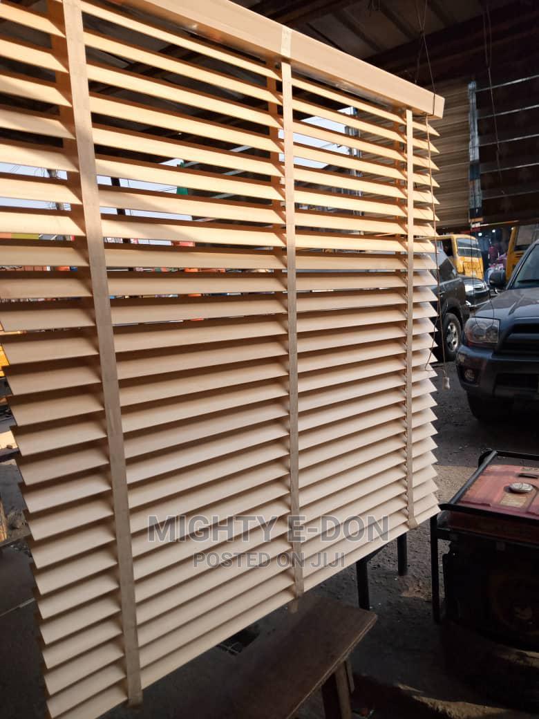 Elegant Wooden Window Blinds