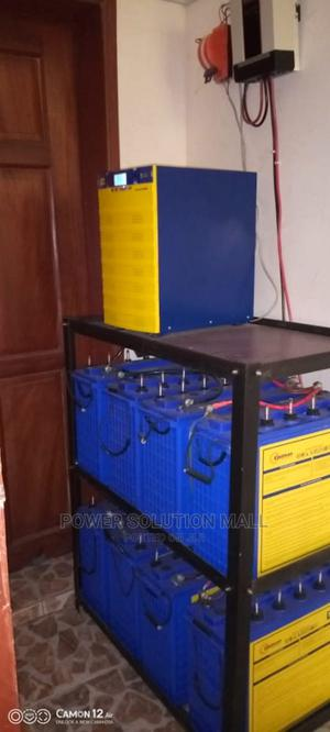Complete 5kva Solar System With 8 Batteries 16 Panels   Solar Energy for sale in Lagos State, Victoria Island