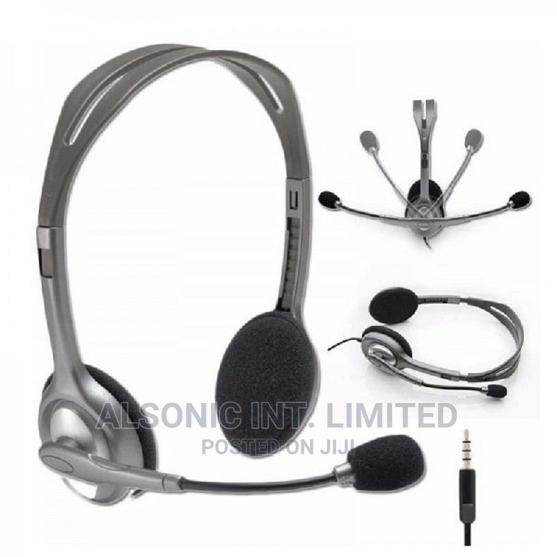 Logitech H110 Stereo Headset   Headphones for sale in Wuse, Abuja (FCT) State, Nigeria