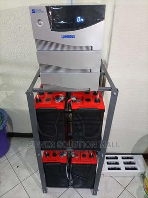 Quality 3.5kva Solar System With 4 Batteries 8 Panels   Solar Energy for sale in Lagos State, Ikeja