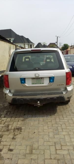 Honda Pilot 2005 Silver | Cars for sale in Lagos State, Oshodi