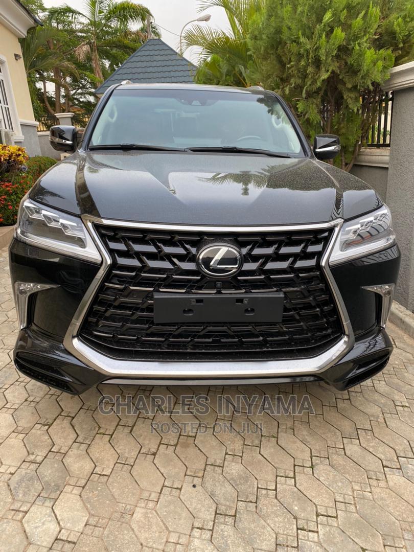 New Lexus LX 2021 Black   Cars for sale in Garki 2, Abuja (FCT) State, Nigeria