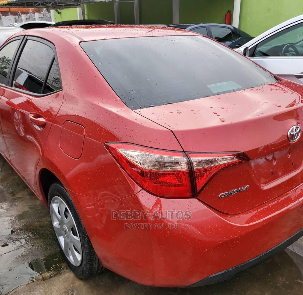 Toyota Corolla 2017 Red | Cars for sale in Agege, Lagos State, Nigeria
