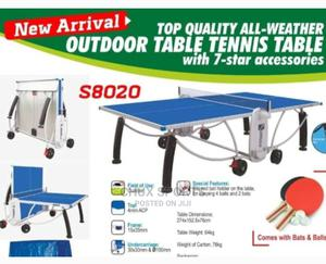 Heavy Duty All Weather Outdoor Table Tennis Board   Sports Equipment for sale in Lagos State, Ogba