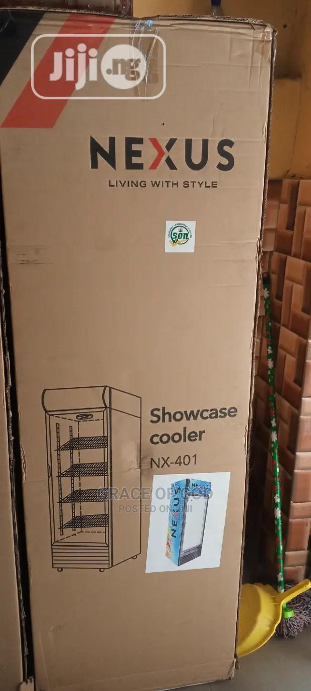 Nexus Showcase Glass Standing Refrigerator NX401 100%Copper