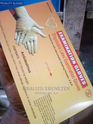 Examination Powdered Gloves   Medical Supplies & Equipment for sale in Ondo State, Akure