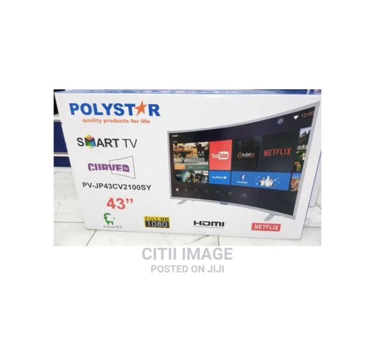 """Archive: Polystar 43"""" Smart Curved TV"""