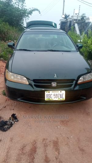 Honda Accord 2000 Coupe Green | Cars for sale in Delta State, Ika South