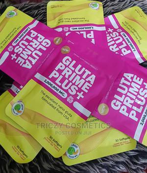 Gluta Prime Plus+ Capsule.   Vitamins & Supplements for sale in Lagos State, Ikoyi