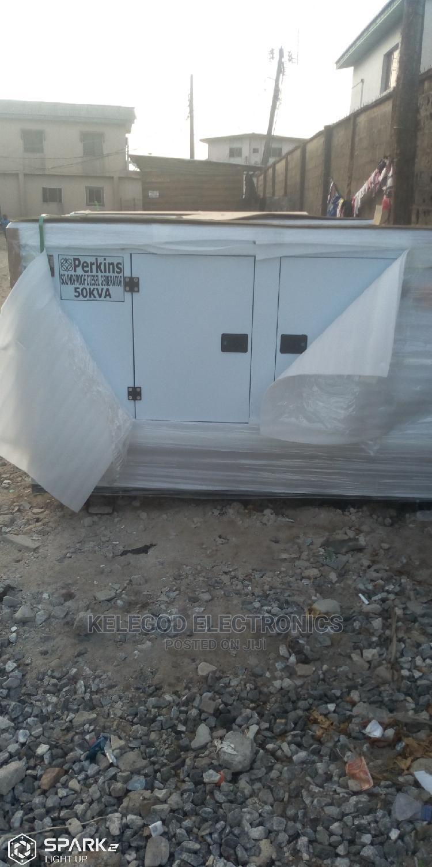 Original Perkins Soundproof Diesel Generator 60kva