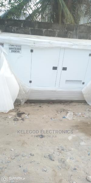 Original Perkins Soundproof Diesel Generator 200kva | Electrical Equipment for sale in Lagos State, Ojodu