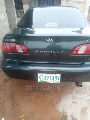 Toyota Corolla 2001 Sedan Green | Cars for sale in Ogun State, Ijebu Ode