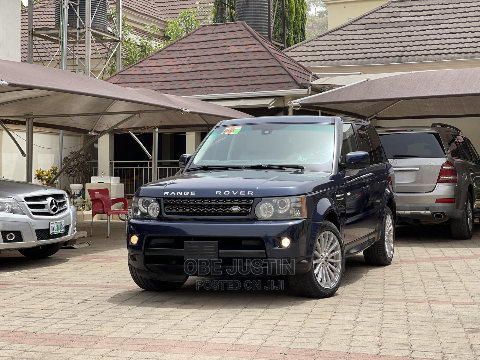 Land Rover Range Rover Sport 2012 HSE LUX Blue