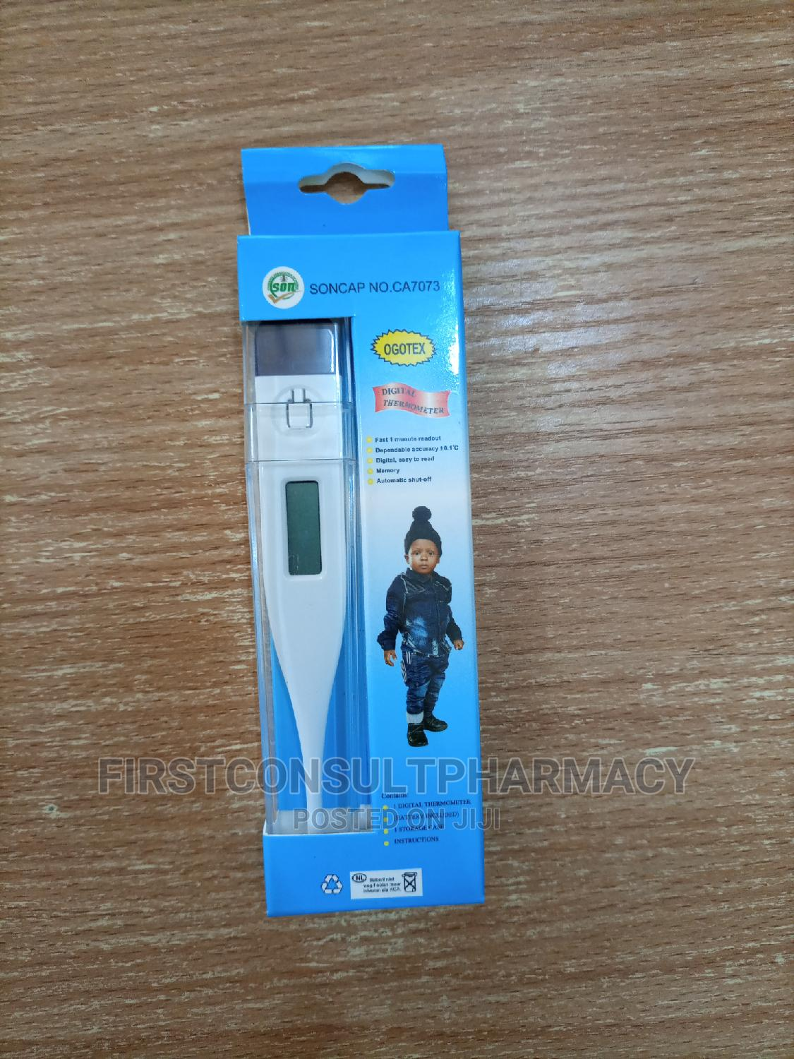 Digital Thermometer   Medical Supplies & Equipment for sale in Surulere, Lagos State, Nigeria