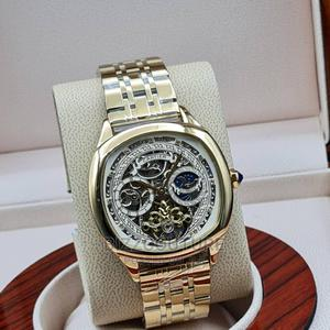 High Quality Cartier Mechanical Gold Chain Watch for Men   Watches for sale in Lagos State, Magodo