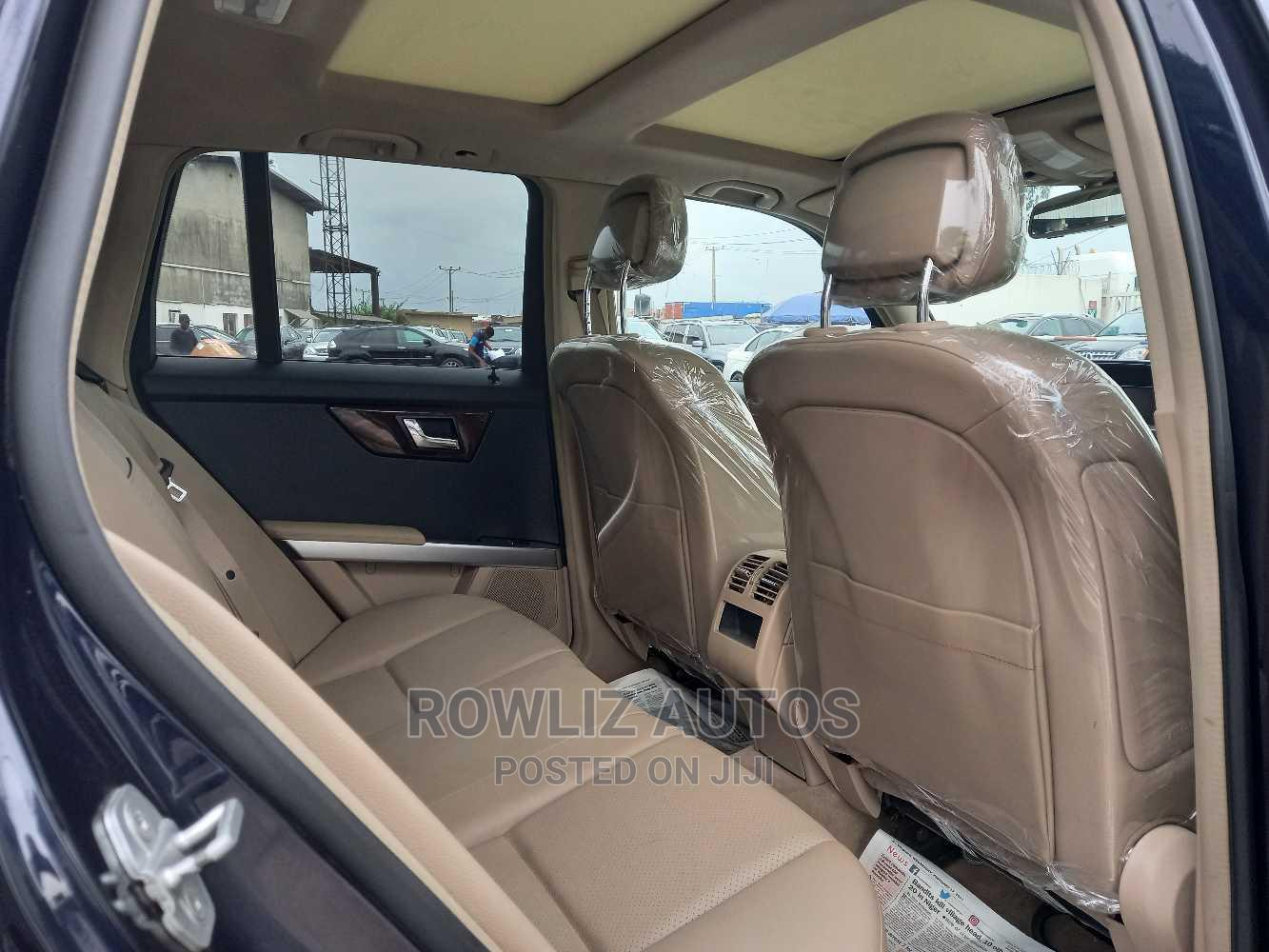 Mercedes-Benz GLK-Class 2012 350 4MATIC Blue   Cars for sale in Apapa, Lagos State, Nigeria