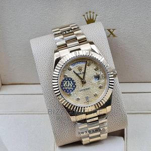 High Quality Rolex Date-Just Gold Chain Watch for Men   Watches for sale in Lagos State, Magodo