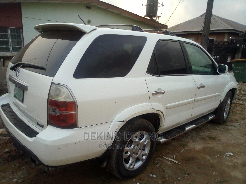 Archive: Acura MDX 2005 White