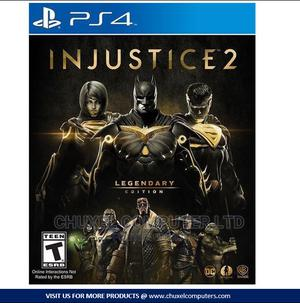 Injustice 2 Legendary Edition PS4 (S) | Video Games for sale in Rivers State, Port-Harcourt