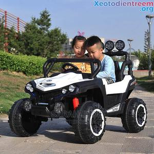 Automatic Double Jeep for Children With Remote Control | Toys for sale in Lagos State, Lagos Island (Eko)