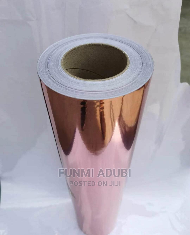 Rose Gold Adhesive Vinyl