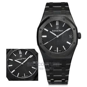 High Quality Audemars Piguet Black Dial Chain Watch for Men | Watches for sale in Lagos State, Magodo