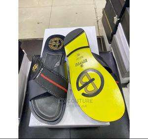 High Quality Butteri Italian Palm Slippers for Men | Shoes for sale in Lagos State, Magodo