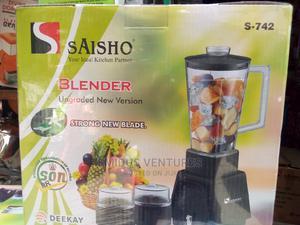 3in1 Saisho Blender | Kitchen Appliances for sale in Lagos State, Lagos Island (Eko)