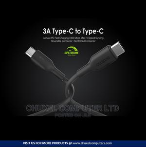 Oraimo Speedline Type C to Type C USB Cable - Ocd-C24 - | Accessories for Mobile Phones & Tablets for sale in Rivers State, Port-Harcourt
