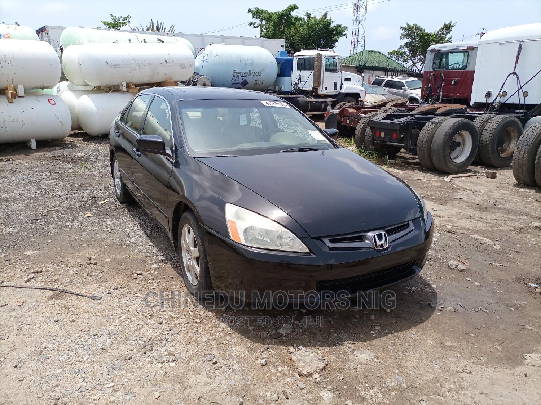 Honda Accord 2005 Black