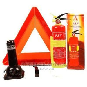 Auto Jack, Fire Extinguisher and C-Caution. | Vehicle Parts & Accessories for sale in Lagos State, Ikeja